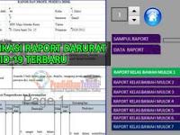 Download Aplikasi Raport Darurat Covid-19 Terbaru, Gratis