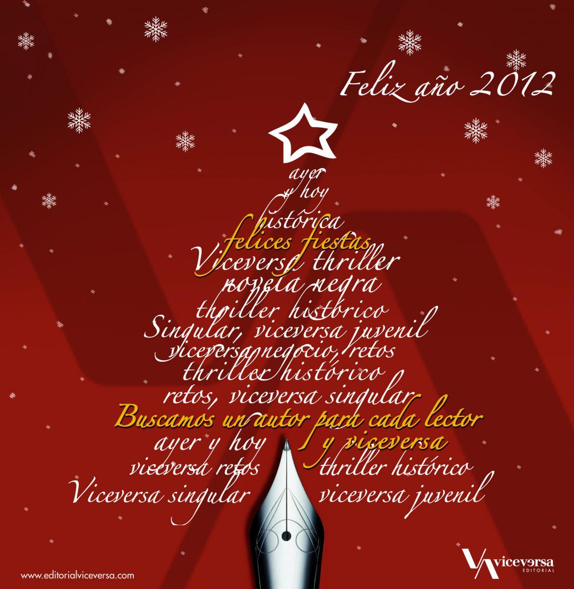 Libros en mi memoria las editoriales nos felicitan las - Tarjeta navidad original ...