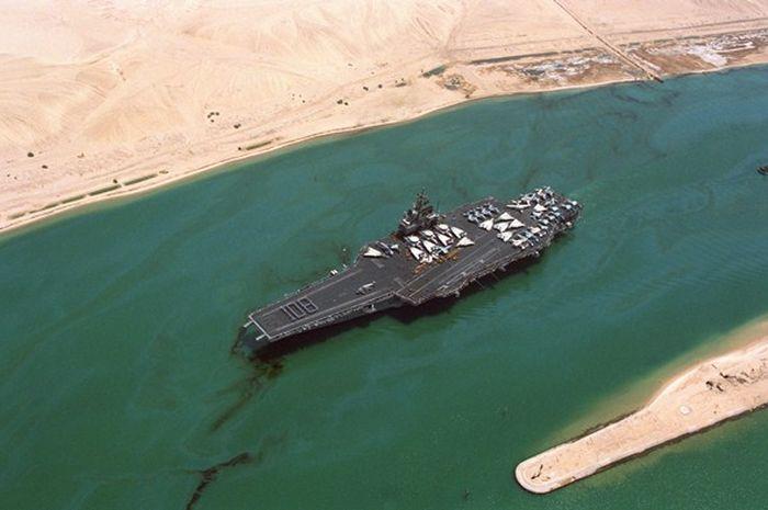 Terusan Suez, Jalur Laut Terpenting yang Menghubungkan Asia dan Eropa