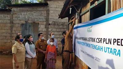 PLN Gratiskan Biaya Sambung Listrik ke 1.373 Keluarga di Desa Terpencil NTT