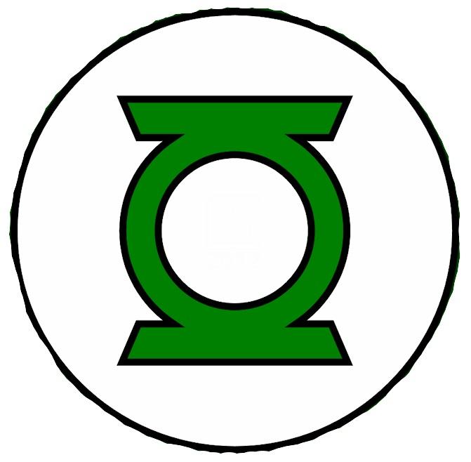 Green Lantern Logo Coloring Pages
