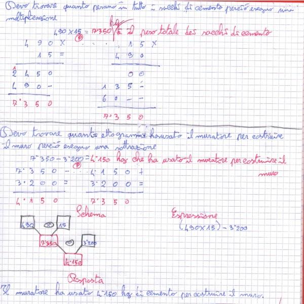 didattica matematica scuola primaria: Problemi con la ...