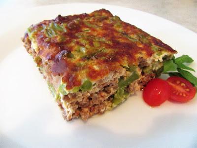Složenac - musaka s mahunama / Casserole - moussaka with green string beans