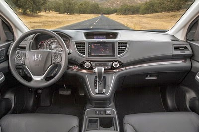 Interior Honda CR-V Facelift