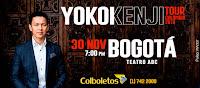 TOUR Colombia de YOKOI KENJI en Bogotá