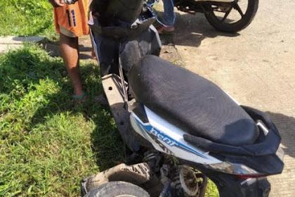 Dua sepeda motor tabrakan di Cianjur seorang bayi tewas