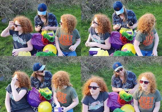 EnChroma Colour blind glasses Charlie's Angels collage