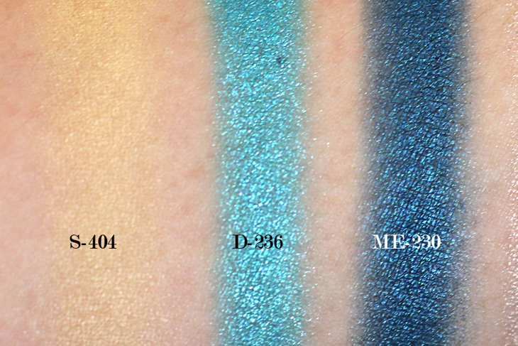 Make Up For Ever Floral Volume 3 Artist Palette Review & Swatches: S-404, D-236, ME-230