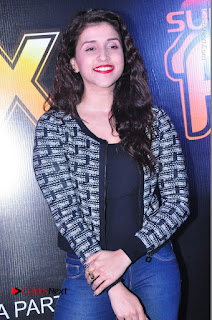 Actress Mannara Chopra Stills in Jeans at Sparx 2017 Curtain Raiser Event  0159.JPG