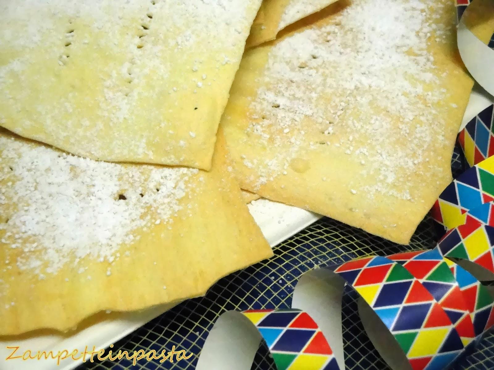 Galani al forno - Ricetta di Carnevale