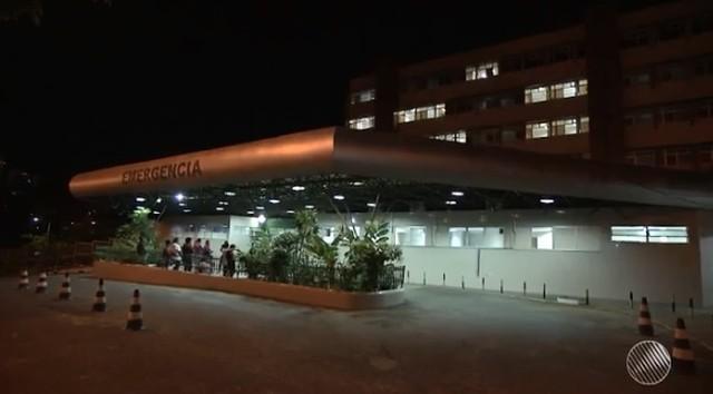 Garota foi encontrada desmaiada e levada por familiares para o Hospital Geral do Estado (HGE) (Foto: Reprodução/ TV Bahia)