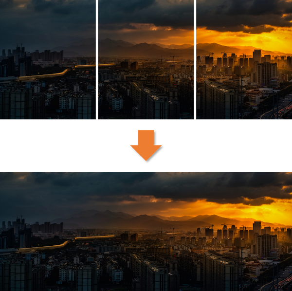 image stitching with opencv