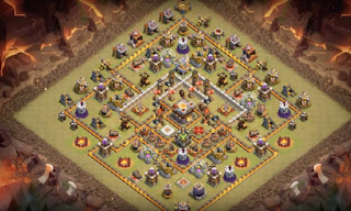 Town Hall 11 War Base