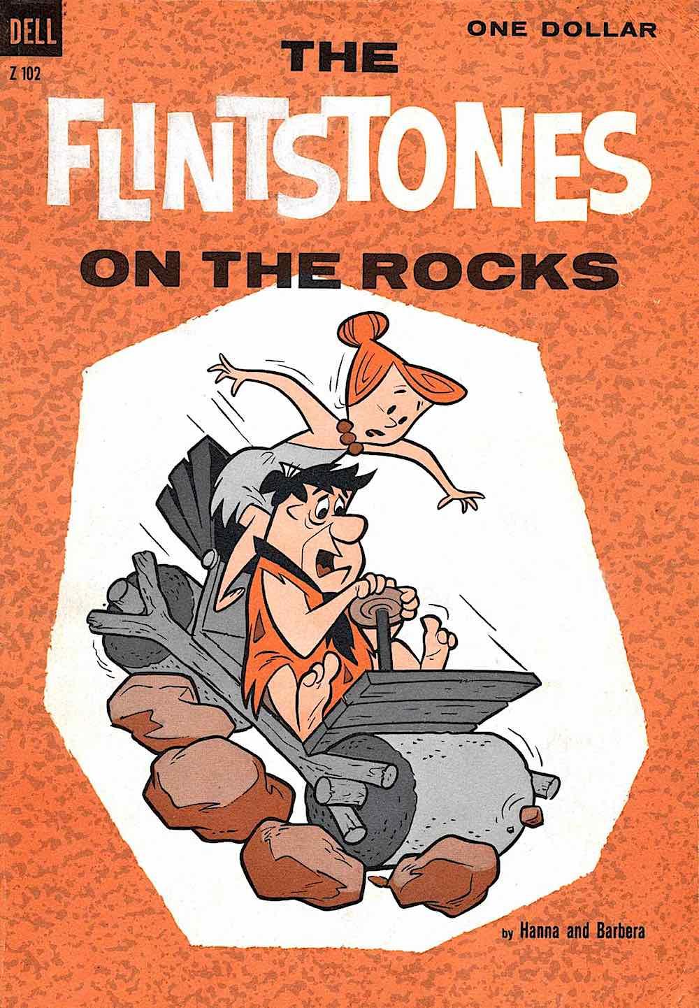Dell Comics 1961 The Flintsones On The Rocks