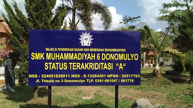 smk muhammadiyah 6 donomulyo