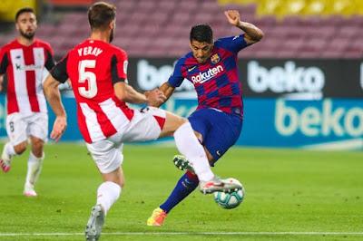 """Video Barcelona 1-0 Bilbao: Messi """"bắn phá"""", người hùng bất ngờ"""