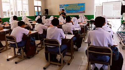 Puluhan Siswa SMKN 1 Pringgabaya Ikuti Workshop Anti Bullying