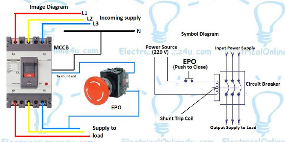 What is a Shunt Trip? - Electrical Axis | Ge Shunt Trip Wiring Diagram |  | Electrical Axis