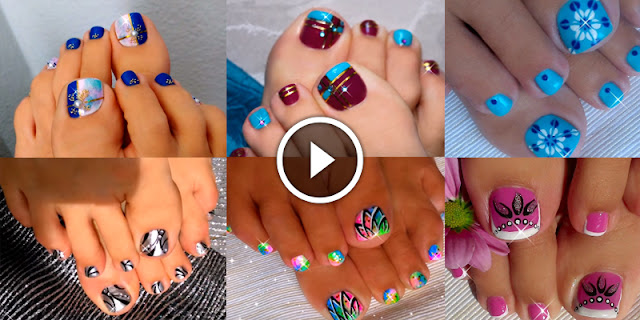 Nail DIY - How To Apply These 10+ Easy Toenail Arts At Home!