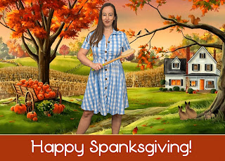 Happy Spanksgiving from Miss Jenn Davis
