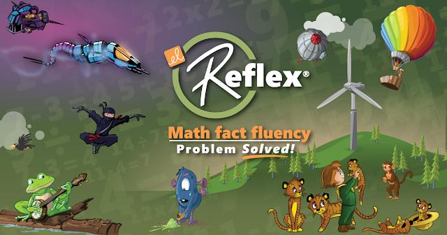 students can also learn via fun on reflex math
