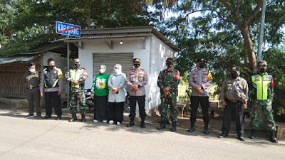 Kegiatan Yustisi gabungan muspika Kecamatan Batujaya dan muspika kecamatan cabang bungin.