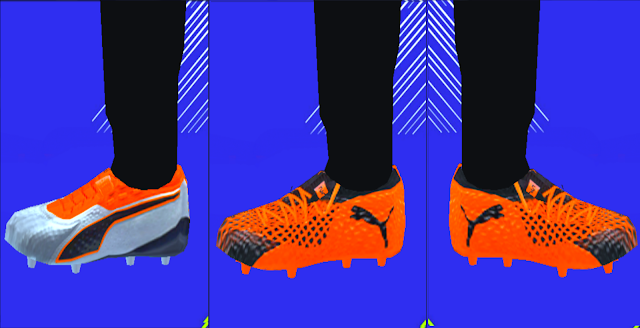 Puma Uprising Boots Pack 2018/19 - PES PSP (PPSSPP)