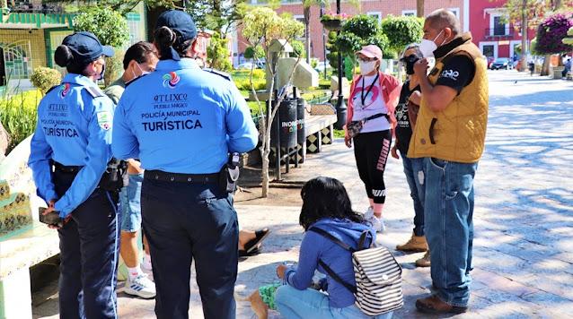 Policía Turística reanuda actividades para atención a visitantes