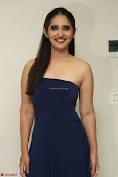 Radhika Mehrotra in sleevless Strap less Blue Gown At Prema Entha Madhuram Priyuraalu Antha Katinam Movie Interview ~  Exclusive 098.JPG