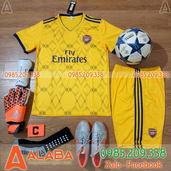 Áo CLB Arsenal màu vàng bán chạy