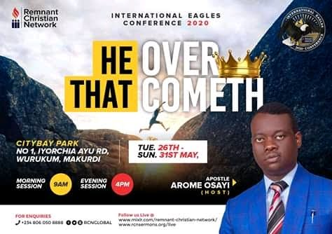 International Eagles Conference 2020: He That Overcometh