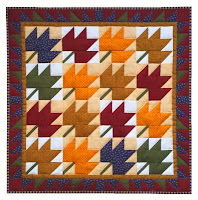 Rachels of Greenfield Leaves Quilt Kit
