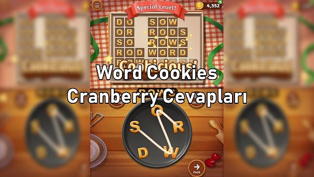Word Cookies Cranberry Cevapları