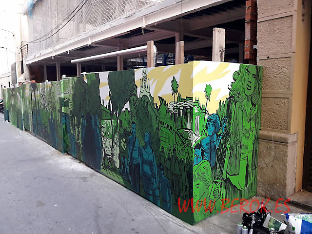 Mural Sagar Núñez y Navarro
