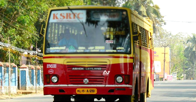 Covid-19; The KSRTC bus was blocked by the police and inspected by the health department officials,www.thekeralatimes.com