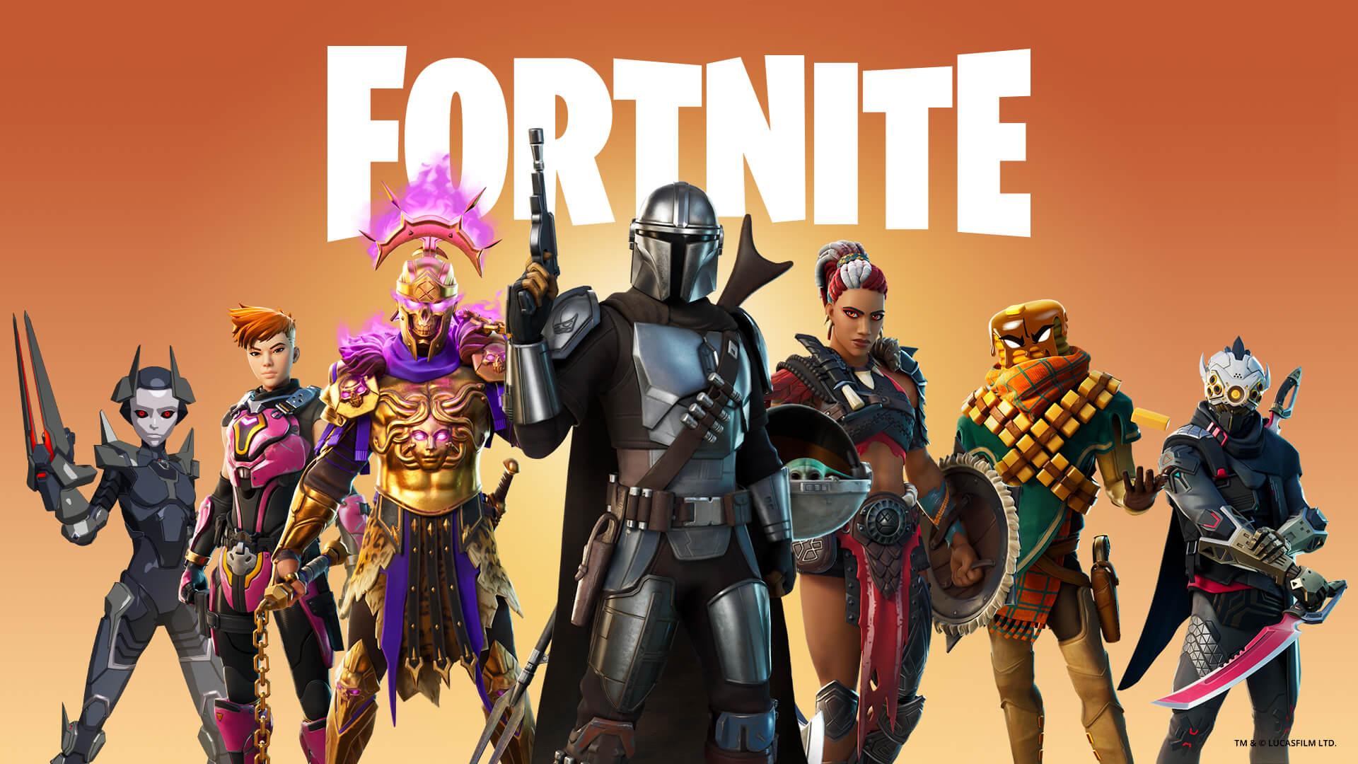 #4 Fortnite