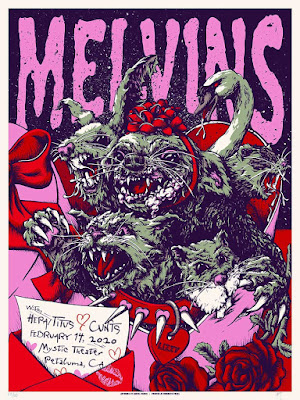 Melvins Valentine's Day poster