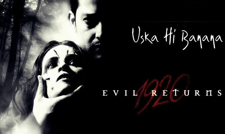 Uska Hi Bana Lyrics in Hindi