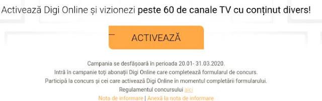 regulament castigatori concurs digi online 2020