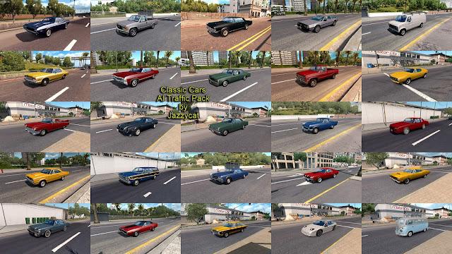 ats classic cars ai traffic pack v2.9 screenshots 3