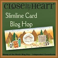 Slimline Card Blog Hop