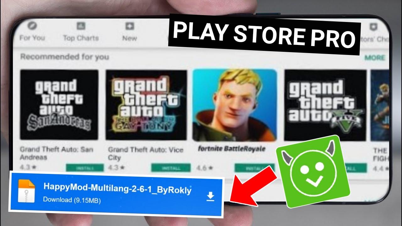 اخيرا تحميل Play Store PRO فيه كل الالعاب العالمية Play Store Pro APK
