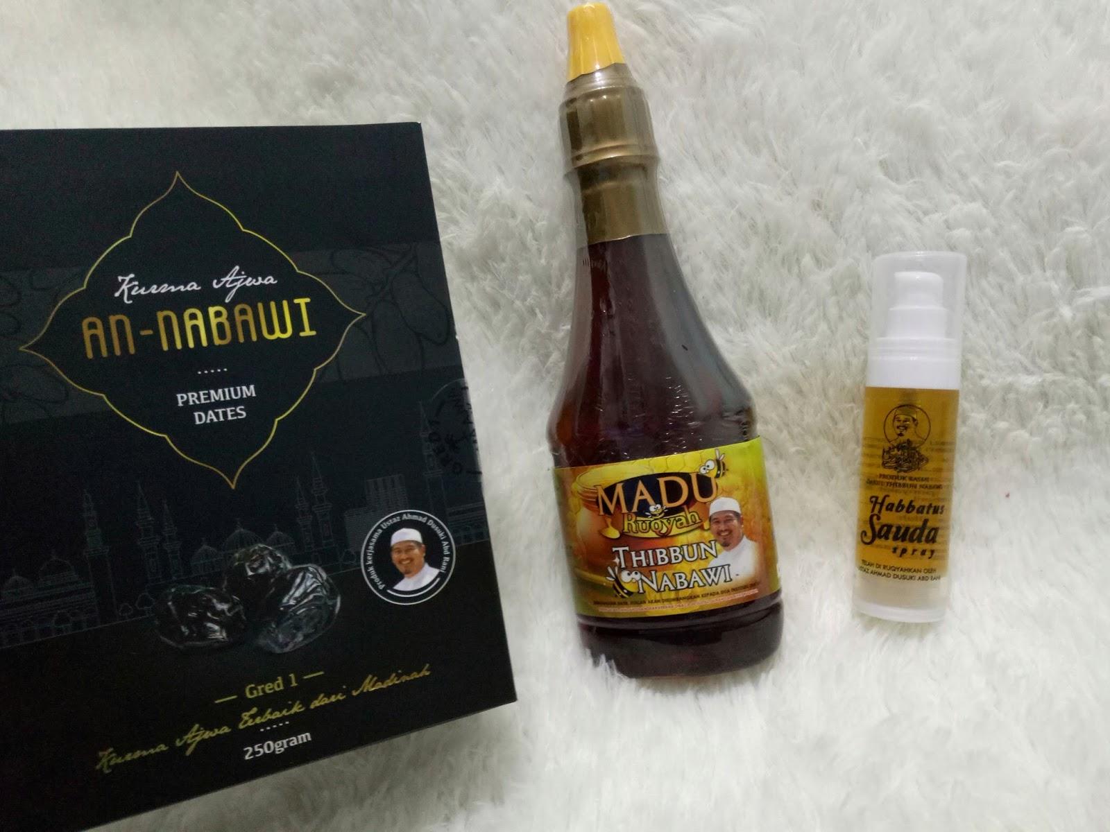 Madu Ruqyah Thibbun Nabawi