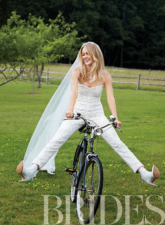 Brides Victoria's Secret model Lindsay Ellingson