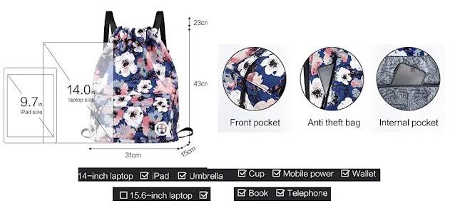 Horsky Anime Leaf Shoulder School Bag review