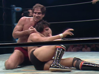NWA Starrcade 83: A Flare for the Gold - Jack Brisco takes down Ricky Steamboat