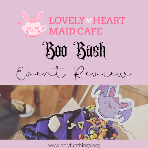 Lovely Heart Maid Café's Boo Bash – Event Review