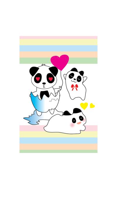 Cute panda theme v.1