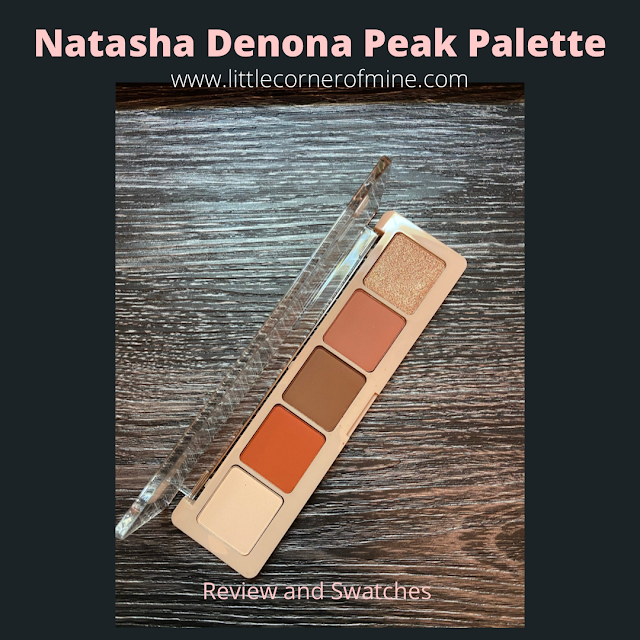 Review and Swatches: Natasha Denona Peak Palette