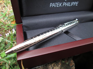 Pena (Pulpen) Mewah Patek Philippe PTK001B Metal Pen Red Wood Box